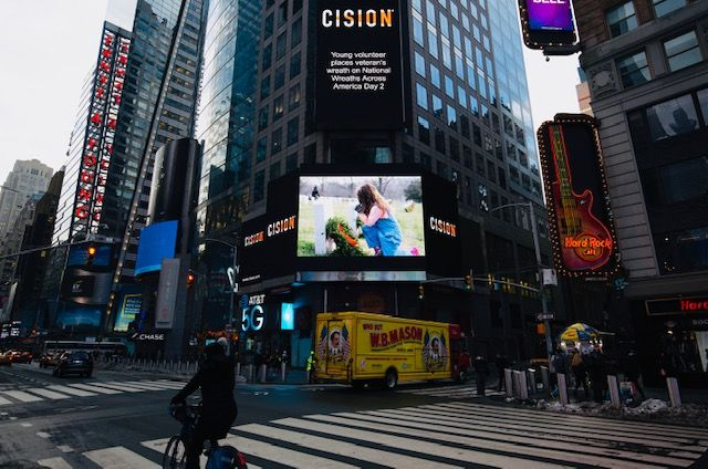 Gisella's picture posted in News Square, NYC